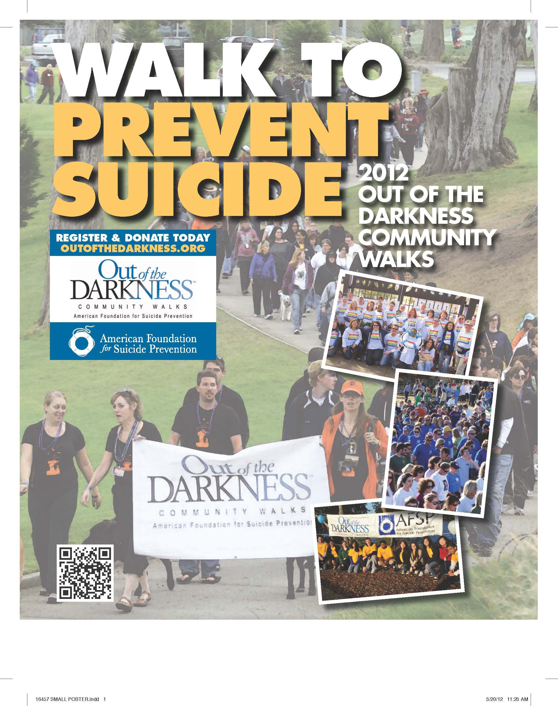 Join TEEN LINE at the Out Of The Darkness Walk! - TEEN LINE