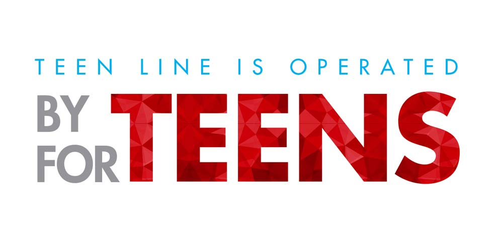 TEEN LINE is operated by teens for teens
