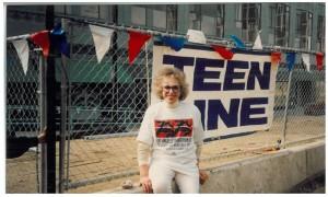 Elaine Leader LA Marathon 1982