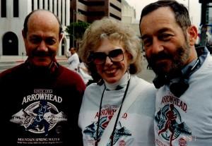 Earl Gross, Elaine Leader, Terry Lipton. LA Marathon 1991