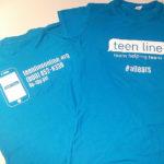 TL t-shirt blue new logo