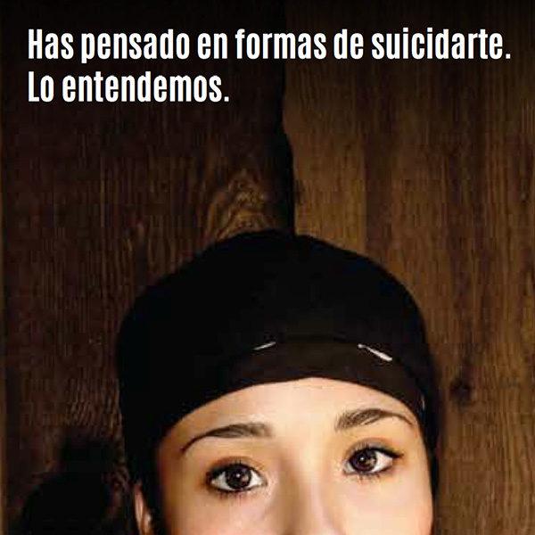 teen suicide spanish brochure