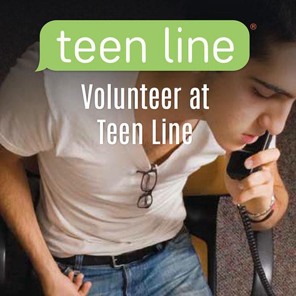 Volunteer at TeenLine Brochure