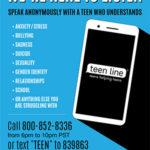 Teen Line Poster 2019